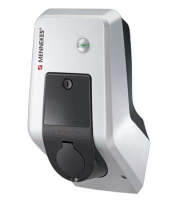 MENNEKES Wallbox AMTRON Xtra 11kW - 11kW Ladestation mit Ladesteckdose Typ2 - 1344401 - förderfähig