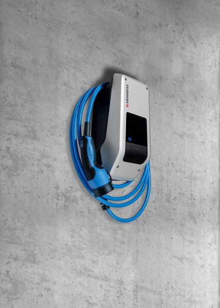 MENNEKES Wallbox AMTRON Xtra 22 C2 – 22kW Ladestation mit 7,5m Typ 2 Ladekabel – 1344202