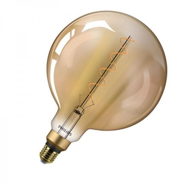 Philips LEDbulb Classic G200 Vintage Gold Filament 5W 2000K warmweiß 300lm E27 nicht dimmbar