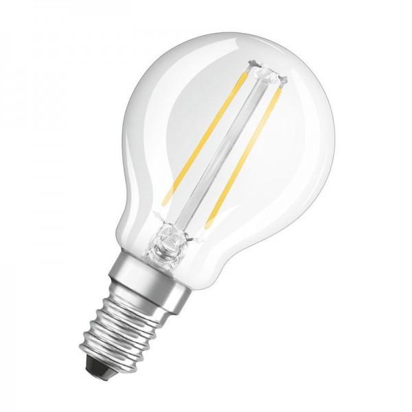 Osram/LEDVANCE LED Filament Superstar Classic P 3,3W 2700K warmweiß 250lm matt E14 dimmbar
