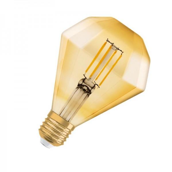 Osram/LEDVANCE LED Filament Diamond Classic 4,5W 2500K warmweiß 420lm klar E27 nicht dimmbar