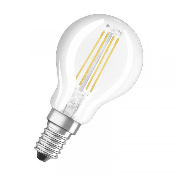 Osram/LEDVANCE LED Filament Supestar Classic P 5W 4000K kaltweiß 470lm klar E14 dimmbar