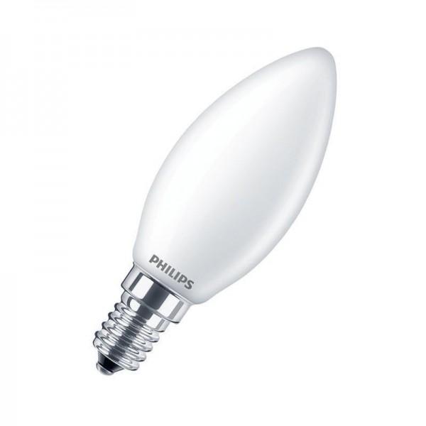 Philips LEDcandle Classic B35 4,3W 2700K warmweiß 470lm E14 matt nicht dimmbar