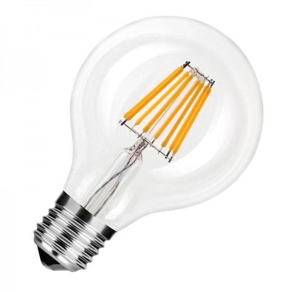 Modee LED Filament Globe G80 8W 2700K warmweiß 750lm E27 klar nicht dimmbar