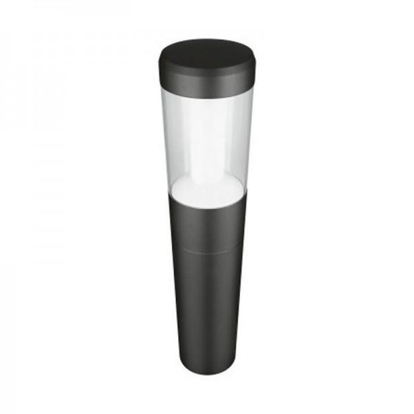 Osram/LEDVANCE LED Laterne Outdoor Bollard 500 12W 3000K warmweiß 610lm IP54 Grau