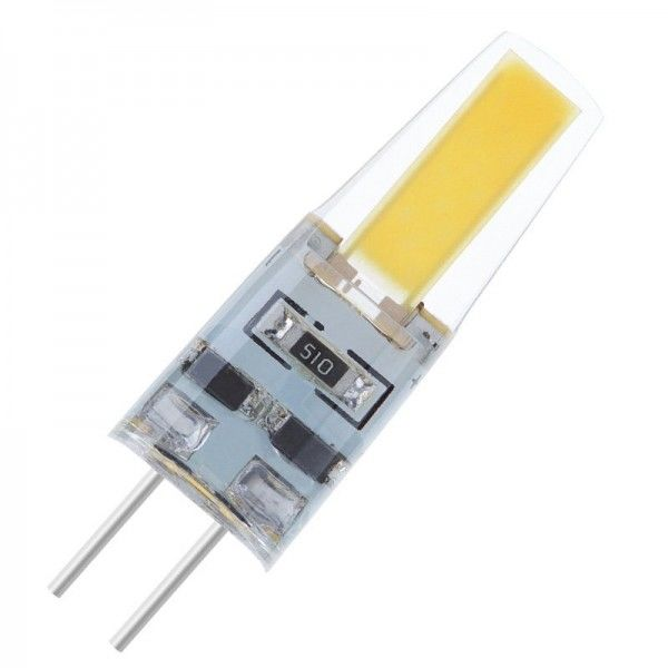 Modee LED Silicon COB AC 2W 4000K neutralweiß 180lm G4 klar nicht dimmbar