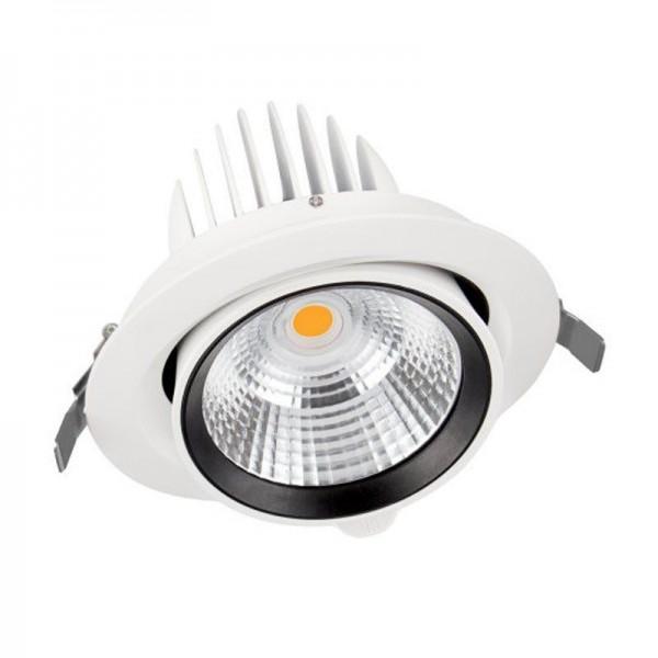 Osram/LEDVANCE LED Einbauleuchte Spot Vario D170 35W 3000K warmweiß 3350lm IP20 Weiß