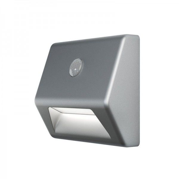 Osram/LEDVANCE LED Nightlux Stair 0,25W 4000K kaltweiß 10lm IP54 Silber