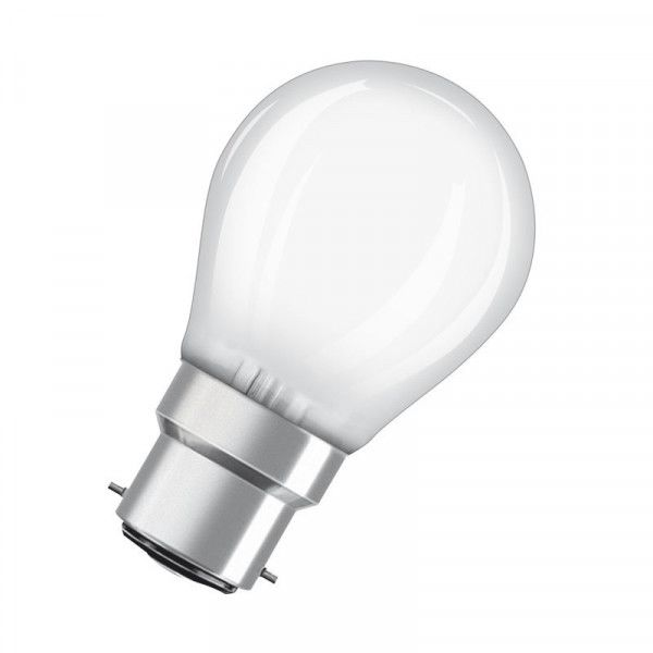 Osram/LEDVANCE LED Filament Superstar Classic P 5W 2700K warmweiß 470lm Matt B22d dimmbar