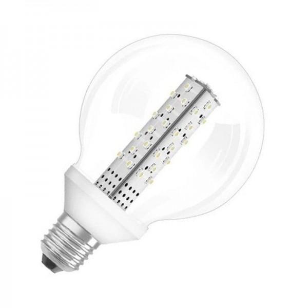 Osram/LEDVANCE LED G95 15 CL WW G95 3W 3000K warmweiß 136lm klar E27 nicht dimmbar