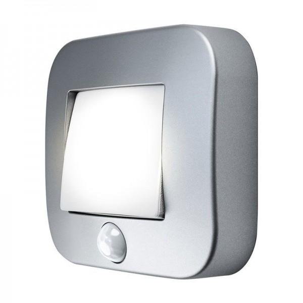 Osram/LEDVANCE LED Nightlux Hall 0,25W 4000K kaltweiß 14lm IP54 Silber