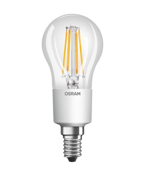 Osram/LEDVANCE LED Filament Superstar Classic P 6W 2500K warmweiß 806lm klar E14 dimmbar