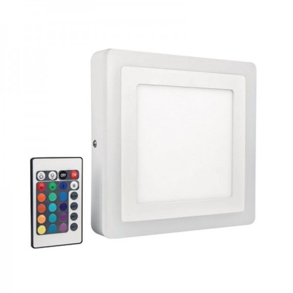 Osram/LEDVANCE LED Color White Square 200mm 19W 3000K warmweiß 780lm IP20 Weiß