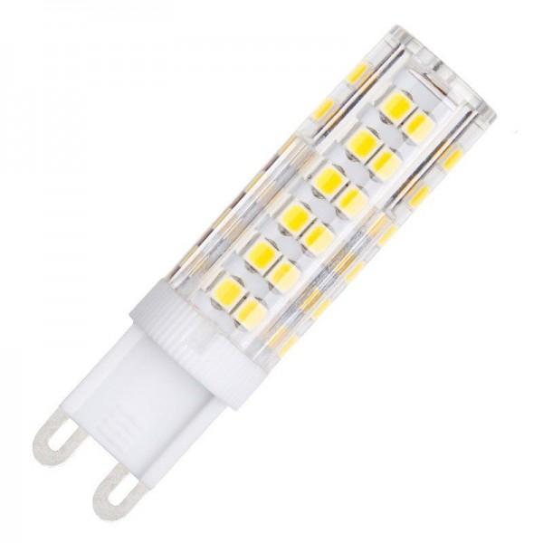 Modee LED Ceramic Stiftsockellampe 7W 4000K neutralweiß 500lm G9 klar nicht dimmbar