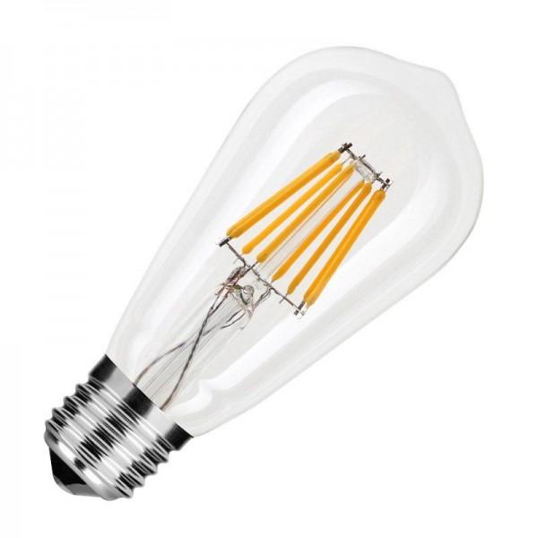 Modee LED Filament Birnenform ST58 8W 2700K warmweiß 750lm E27 klar nicht dimmbar