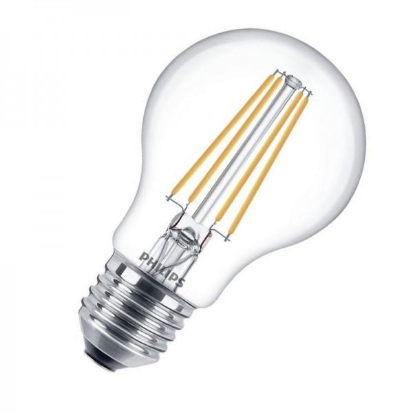 Philips LEDbulb Classic Filament 8W 2700K warmweiß 806lm E27 klar dimmbar