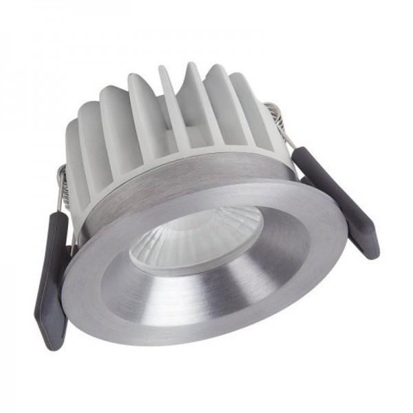 Osram/LEDVANCE LED Einbauleuchte Spot 8W 4000K kaltweiß 670lm IP44 Silber