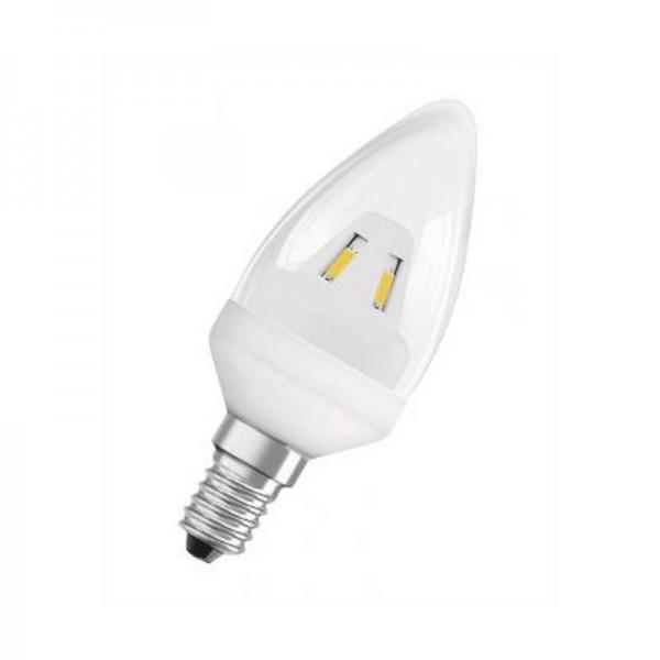 Osram/LEDVANCE LED Star Classic B 2W 2700K warmweiß 136lm klar E14 nicht dimmbar
