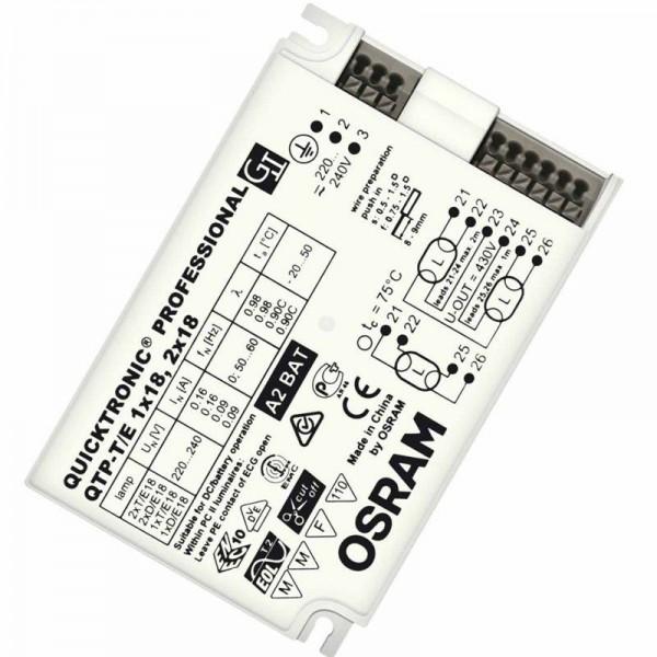 Osram/LEDVANCE QTP-T/E 1x18, 2x18W 220-240V