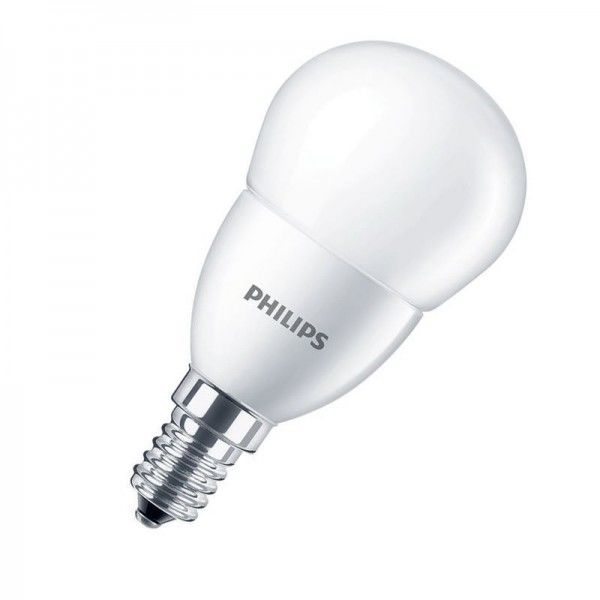 Philips CorePro LEDluster P48 7W 2700K warmweiß 806lm E14 matt nicht dimmbar