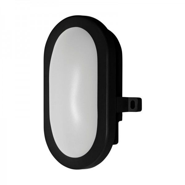 Osram/LEDVANCE LED Bulkhead 5,5W 4000K kaltweiß 450lm IP54 Schwarz