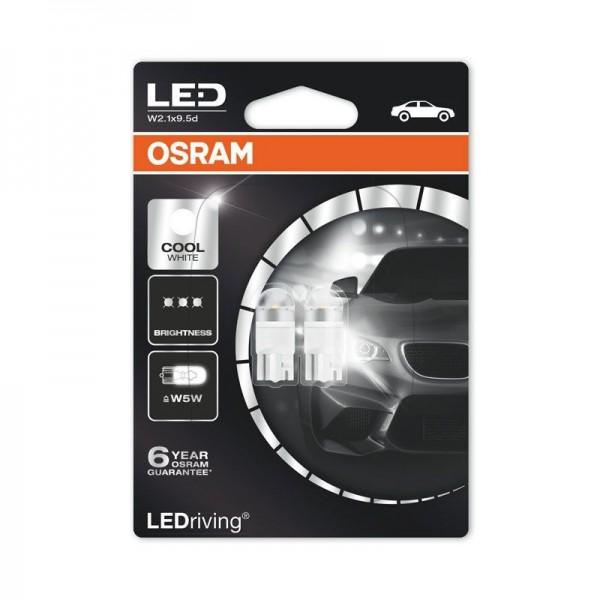 Osram/LEDVANCE Signal-/Innenraumlampe 2er Pack 1W 12V 75lm W2.1x9.5d