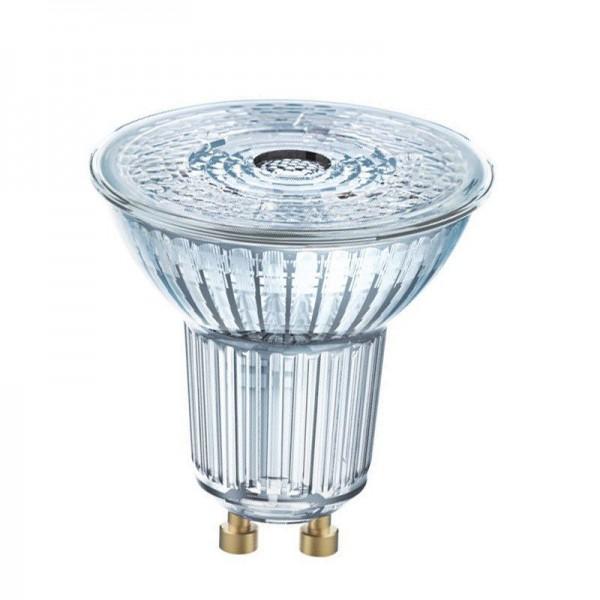 Osram/LEDVANCE LED Superstar PAR16 8W 2700K warmweiß 575lm Klar GU10 dimmbar