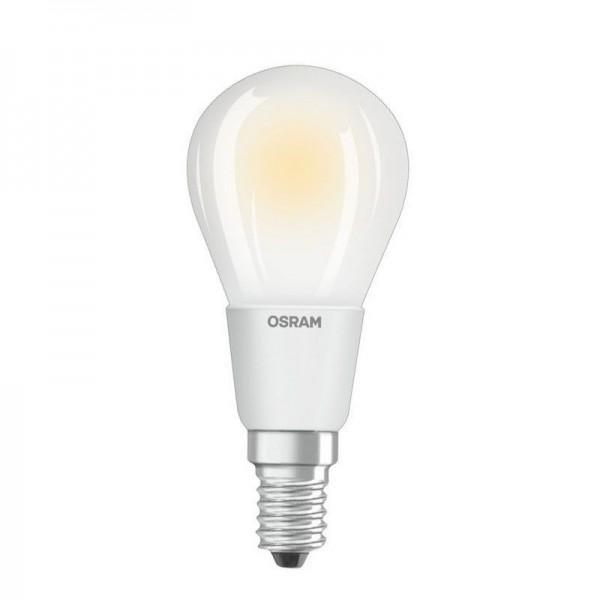 Osram/LEDVANCE LED RF Classic P40 5W 2700K warmweiß 470lm matt E14 dimmbar