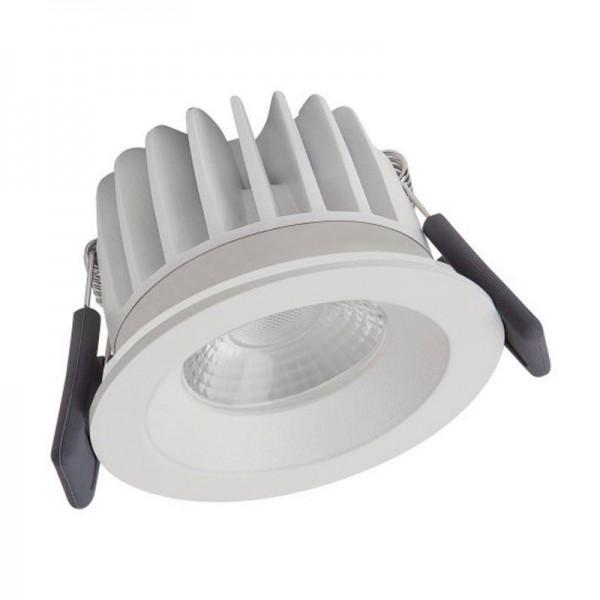 Osram/LEDVANCE LED Einbauleuchte Spot Feuerfest 8W 4000K kaltweiß 670lm IP65 Weiß