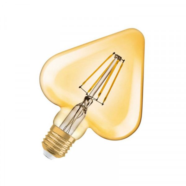 Osram/LEDVANCE LED Filament Vintage Heart 4,5W 2500K warmweiß 470lm klar E27 nicht dimmbar