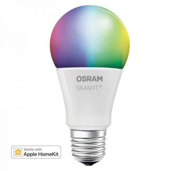 Osram/LEDVANCE LED Smart + Apple Homekit Classic A 10W 2000K RGBW 800lm matt E27 dimmbar