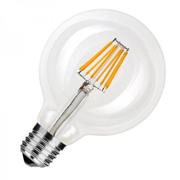 Modee LED Filament Globe G95 8W 2700K warmweiß 750lm E27 klar nicht dimmbar