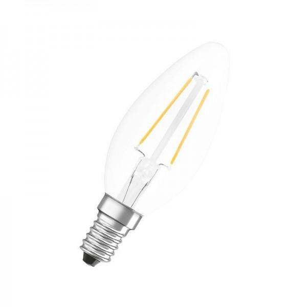 Osram/LEDVANCE LED Filament Neolux Classic B 2,8W 2700K warmweiß 230lm klar E14 nicht dimmbar