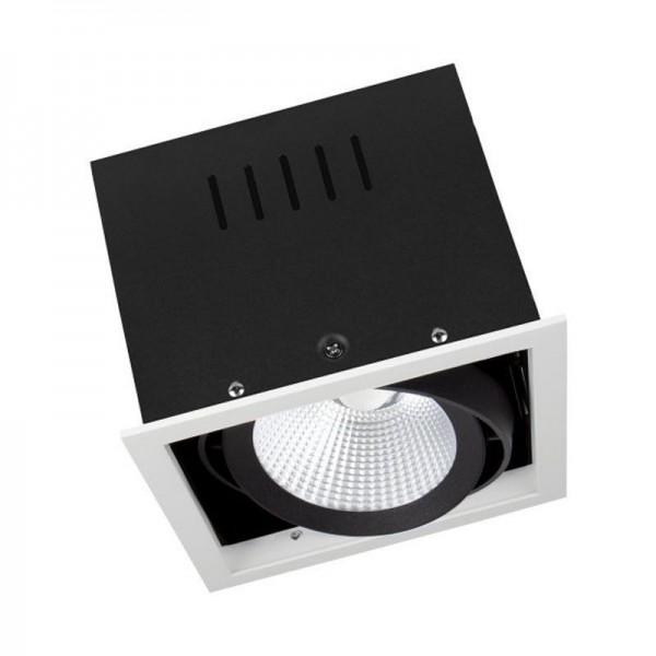 Osram/LEDVANCE LED Einbauleuchte Spot Multi 30W 4000K kaltweiß 2700lm IP20 Weiß