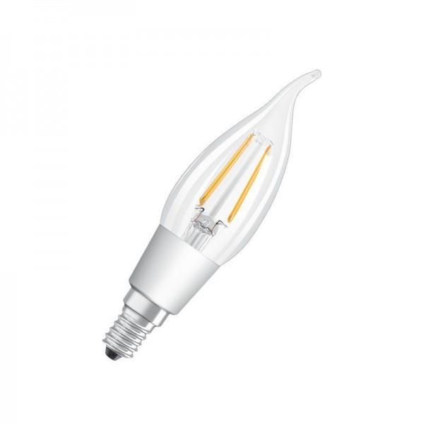 Osram/LEDVANCE LED Filament GlowDim BA 4,5W 2700K warmweiß 470lm klar E14 dimmbar