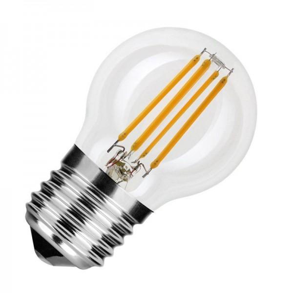Modee LED Filament Globe Mini G45 4W 2700K warmweiß 400lm E27 klar nicht dimmbar