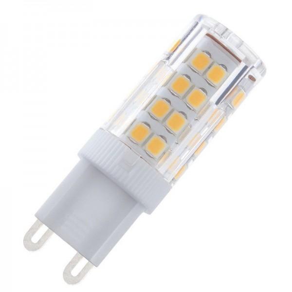 Modee LED Ceramic Stiftsockellampe 5W 6000K tageslichtweiß 420lm G9 klar nicht dimmbar