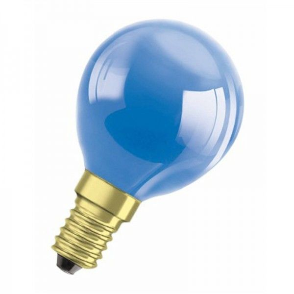 Osram/LEDVANCE Decor Color P45 11W 240V Blau/ Blue E14 dimmbar
