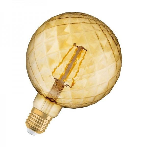 Osram/LEDVANCE LED Filament Pinecone Globe 4,5W 2500K warmweiß 470lm klar E27 nicht dimmbar