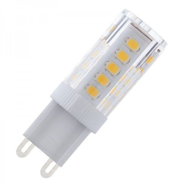 Modee LED Ceramic Stiftsockellampe 3,5W 6000K tageslichtweiß 320lm G9 klar nicht dimmbar