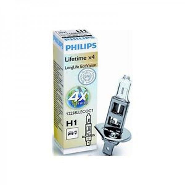 Philips EcoVision H1 12258LLECOC1 55W 12V P14,5s nicht dimmbar