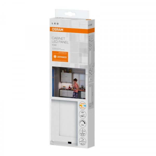 Osram/LEDVANCE LED Cabinet Panel 10W 3000K warmweiß 550lm dimmbar