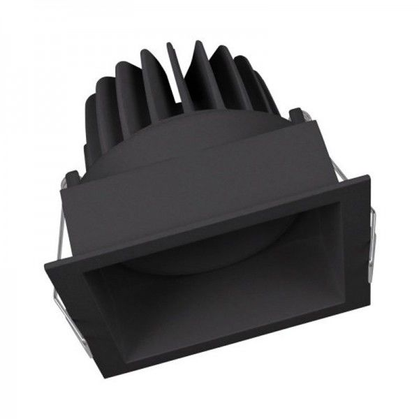 Osram/LEDVANCE LED Einbauleuchte Spot Square Adjust 8W 3000K warmweiß 650lm IP20 Schwarz
