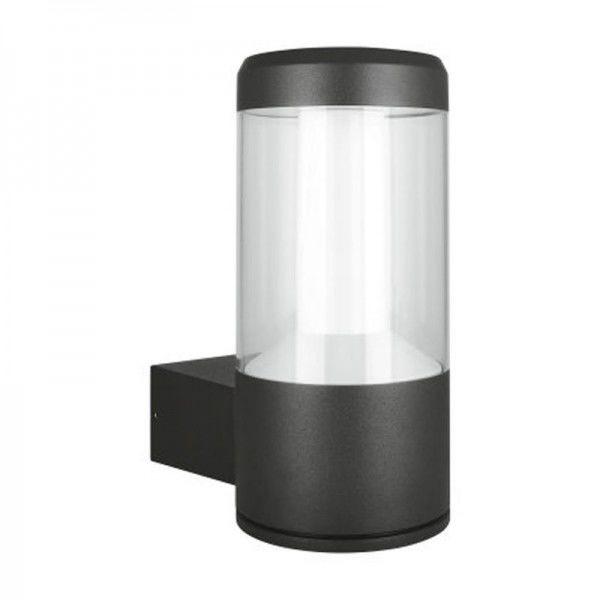Osram/LEDVANCE LED Lantern Outdoor Facade 12W 3000K warmweiß 610lm IP54 Grau
