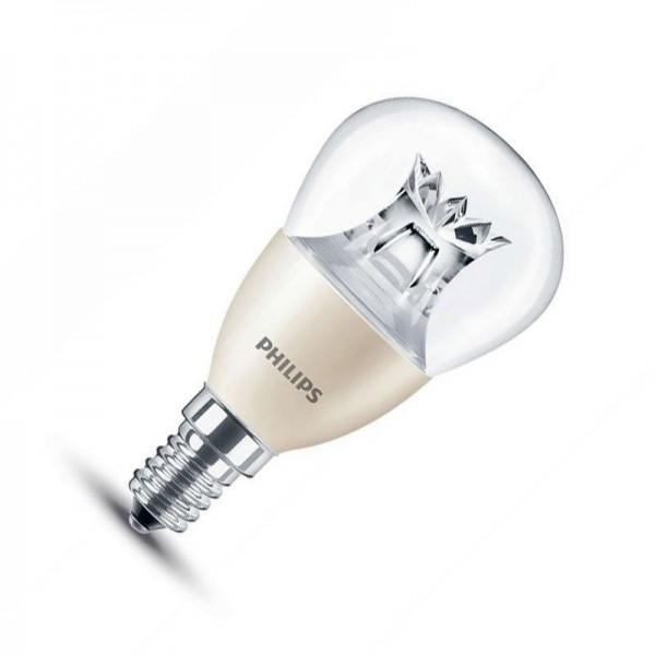 Philips LED P45 4W 2700K warmweiß 250lm E14 klar nicht dimmbar