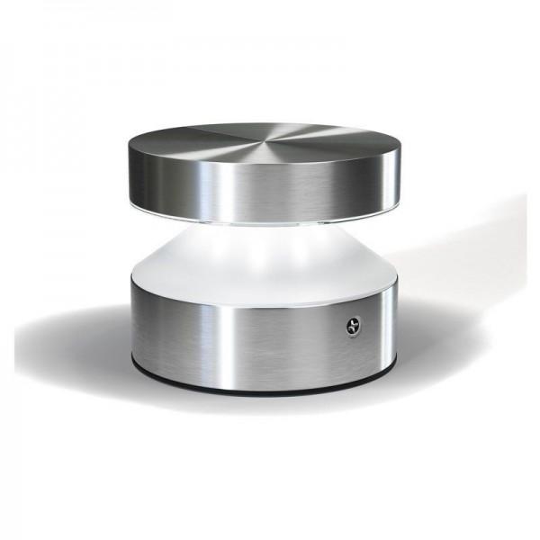 Osram/LEDVANCE Wand- und Deckenleuchte LED Endury Style Zylinder 6W 3000K warmweiß 360lm IP44 Steel