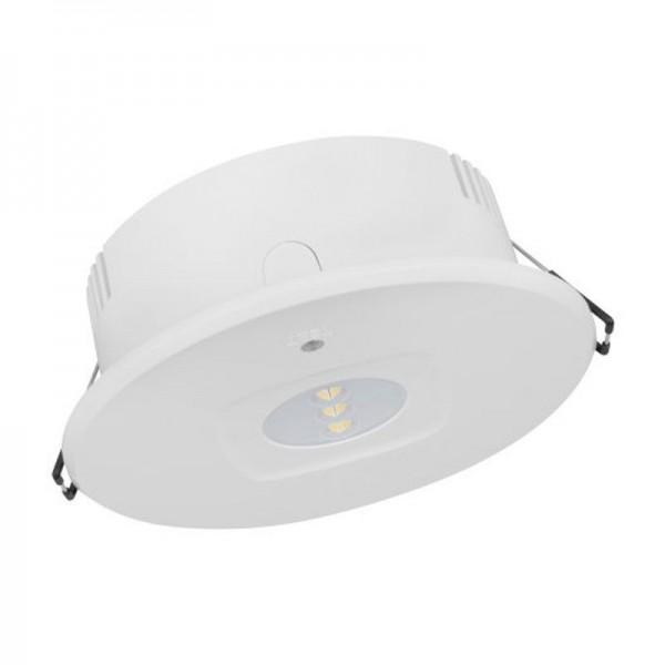 Osram/LEDVANCE LED Emergency DL DN120 HO Automatic 4W 6500K tageslichtweiß 335lm IP43 Weiß