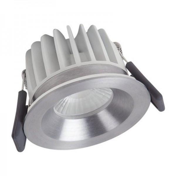 Osram/LEDVANCE LED Einbauleuchte Spot Feuerfest 8W 4000K kaltweiß 670lm IP65 Silber