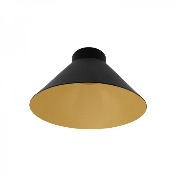 Osram/LEDVANCE Vintage 1906 Pendulum Cone Black and Gold Lampenschirm max60W IP20 Schwarz/Gold