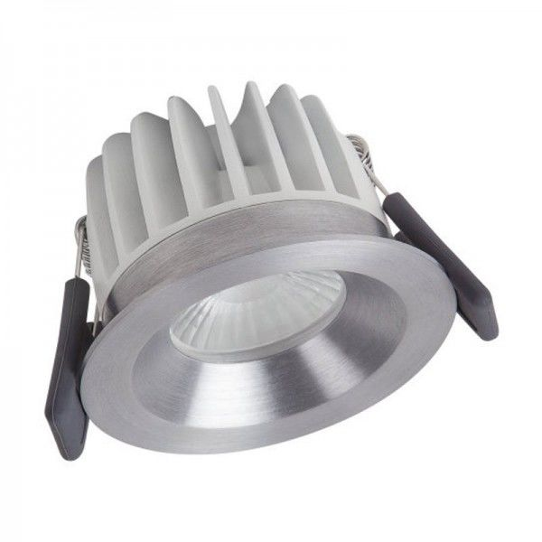 Osram/LEDVANCE LED Einbauleuchte Spot 8W 3000K warmweiß 620lm IP44 Silber
